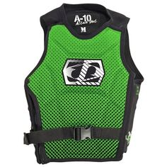 Jetpilot 2014 A10 Comp Vest Green Life Jacket -- Details on product can be viewed by clicking the image