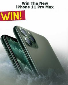 ENTER TO WIN AN IPHONE 11 PRO Iphone Pro, New Iphone, Apple Iphone, Telephone Samsung, Free Iphone Giveaway, Cellular Service, Get Free Iphone, Simple Signs, First Iphone