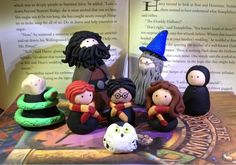 Harry Potter clay figures