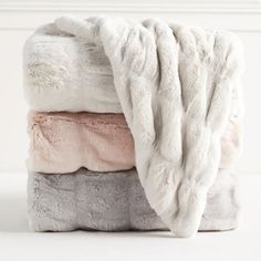 Fluffy Blankets, Cute Blankets, Fuzzy Blanket, Faux Fur Blanket, Decorative Throw Blankets, Bed Blankets, Throw Pillows, Pottery Barn Teen, Faux Fur Throw