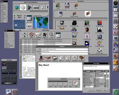 vaporwave computer NeXT Desktop Computer Companies, Computer Workstation, Old Computers, Old Phone, Hardware Software, Windows Xp, Steve Jobs, Interface Design, Vaporwave