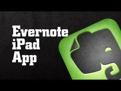 Evernote iPad App tutorial