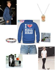 """""""Niall"""" by hannah-burling ❤ liked on Polyvore"""