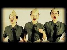 The Andrews Sisters - Boogie Woogie Bugle Boy of Company B - Cover by The Honeybee Trio. this is how women should be, beauty brains and mad talent!!!!! step it up ladies~!