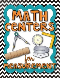 FREE measurement centers for upper elementary!
