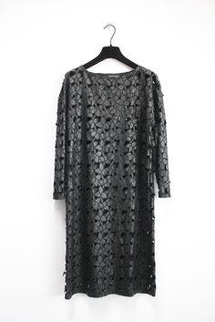 Dress Thea Fantasia Black - MARCHA HÜSKES