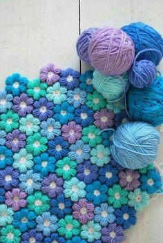 Flowers crochet