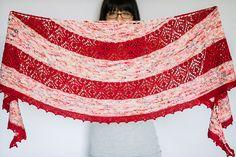 Ravelry: Tokerau Shawl pattern by Francoise Danoy Shawl Patterns, Knitting Patterns, Crochet Patterns, Knitting Projects, Knitted Shawls, Crochet Scarves, Crochet Afghans, Crochet Coat, Shawls And Wraps
