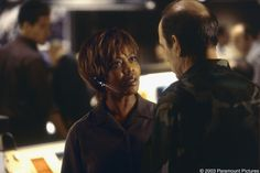 The Core (movie) (Left to right) Alfre Woodard as Stickley and Richard ...