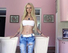 Valeria Lukyanova: Human Barbie 'going to live on air and light only' as a Breatharian.