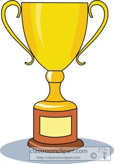 Trophy Clipart Pencil And In Color