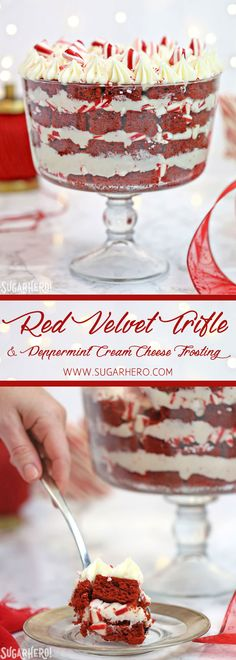 Red Velvet Trifle wi