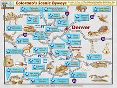 Colorado Scenic Drive Top of the Rockies Scenic Byway Cruises