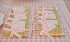 details in gold for this our little angel themed party