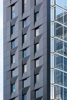 SOM's Baccarat tower in New York overlooks MoMA's sculpture garden