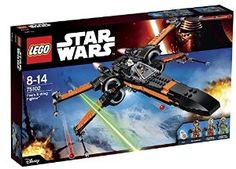 LEGO Star Wars 75102 Poe's X-Wing Fighter: Lego: Amazon.co.uk: Toys & Games