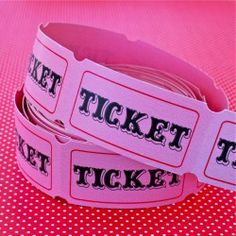 Pink Carnival Tickets