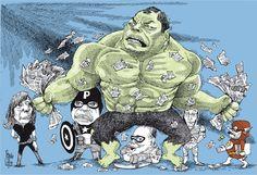 Correa y The Avengers del Socialismo del Siglo XXI - Pancho Cajas