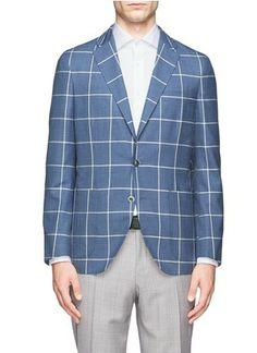 BOGLIOLI'Dover' silk-wool blend blazer