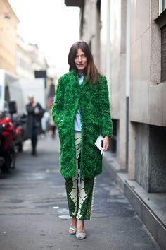 #green look