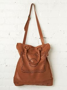 Enshalla Leather Lace Tote http://www.freepeople.com/whats-new/leather-lace-tote/