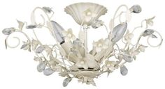 CLS  SF4015/3 | Chandelier Semi Flush Fitting | PEARL Collection AA0639