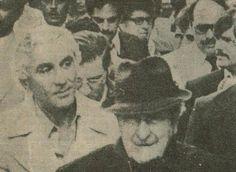 Ruggiero Boiardo (Genovese capo from Newark) and his later successor, Andrew Gerardo. Courtesy of Pat Murphy.