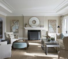 """Farrow and Ball Stony Ground No. 211. """"This beige may be neutral, but I swear it has medicinal, calming qualities — and it doesn't require a prescription! You'll emerge refreshed, with the energy to keep moving and creating. Bring in burnt orange, dark gray, or indigo blue,"""""""