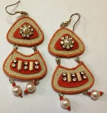 Daily wear Handmade Earrings made by Jute