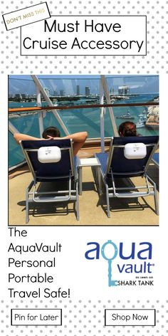 Enjoy the cruise worry-free with AquaVault! Keep your phone, room key safely stored so you can jump in the pool without looking over your shoulder! #cruise From $39.95
