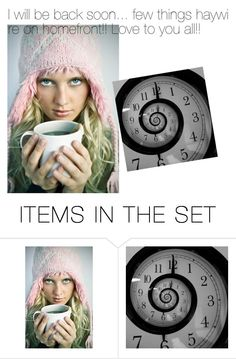 """I'll BeBack Soon!"" by flippintickledinc ❤ liked on Polyvore featuring art"