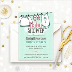 Onesie Baby Shower Invite Printable  Mint Baby Shower by AmeliyCom https://www.etsy.com/listing/509767015/onesie-baby-shower-invite-printable-mint