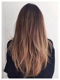 Balayage Straight Hair, Brown Straight Hair, Brown Hair Balayage, Brown Blonde Hair, Straight Hair Highlights, Straight Brunette Hair, Brown Layered Hair, Natural Straight Hair, Thick Long Hair