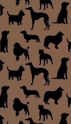 """""""Best in Show Flock"""" wallpaper from Osborne & Little: W5872-02"""