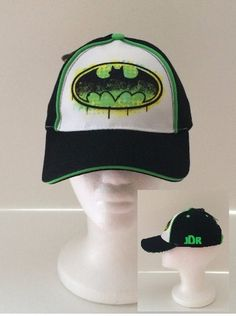 DC Comics BATMAN Toddler Baseball Cap - Personalized by CACBaskets on Etsy