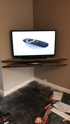 Easy Floating Corner Shelves For Tv Equipment 18 on best sci fi book covers 2018 with Floating Corner Shelves For Tv Equipment Corner Tv Shelves, Corner Tv Wall Mount, Corner Tv Stands, Floating Corner Shelves, Tv In Corner, Corner Tv Stand Ideas, Tv Corner Units, Tv Mounted In Corner, Bedroom Corner