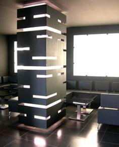 26 fantastiche immagini su pilastri luci design design for Stili di arredamento interni