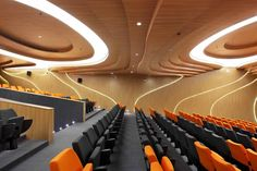 Image 5 of 13 from gallery of M – Auditorium / Planet 3 Studios Architecture. Photograph by Mrigank Sharma