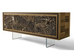 Wooden sideboard with doors A-119 | Sideboard - Dale Italia