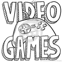 9 best Video Game Coloring Pages images on Pinterest | Coloring ...