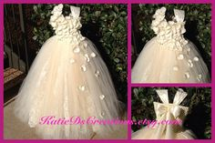 Hey, I found this really awesome Etsy listing at http://www.etsy.com/listing/159755194/ivory-lace-double-tulle-flower-girl-tutu