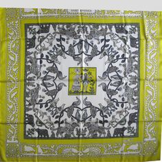 "Early+America+53+Anis+Blanc+Gris+(from+<a+href=""http://piwigo.hermesscarf.com/picture?/5369/category/Home"">HSCI+Hermes+Scarf+Photo+Catalogue</a>)"