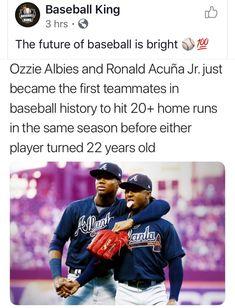22 Years Old, Atlanta Braves, History, Historia