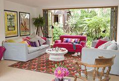 Tapetes coloridos são perfeitos para decorar com muito bom gosto