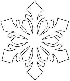 Fensterbilder zu Weihnachten selber machen - Techniken & Vorlagen couper pour et comme Snowflake Craft, Paper Snowflakes, Snowflake Designs, Snowflake Pattern, Snowflake Stencil, Frozen Snowflake, Felt Christmas, Christmas Time, Christmas Ornaments
