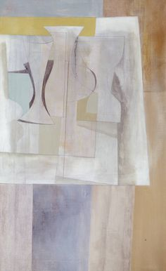 Ben Nicholson OM 'Sept (Torcello)', 1954 © Angela Verren Taunt All rights reserved, DACS Cello, Painting Still Life, Art Uk, Colorful Paintings, 2d Art, Light In The Dark, Painting & Drawing, Illustration, Modern Art