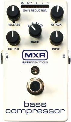 MXR M87 Bass Compressor Bass Effects Pedal (algun dia Dios me permitira vacilarme uno de estos)