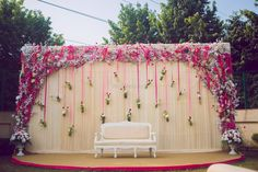 Photo of Unique engagement stage decor idea with florals in hanging bottles Best Picture For Balloon Decorations number For Your Taste You are looking for something, and it is going to tell you exactl Reception Stage Decor, Wedding Stage Backdrop, Wedding Backdrop Design, Desi Wedding Decor, Wedding Stage Design, Reception Backdrop, Wedding Stage Decorations, Backdrop Decorations, Backdrops