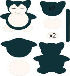 Snorlax Pattern by Mokulen22.deviantart.com on @deviantART