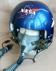 nasa flight helmet